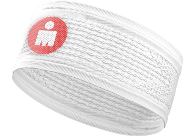 Compressport On/Off Headband Ironman 2017 white